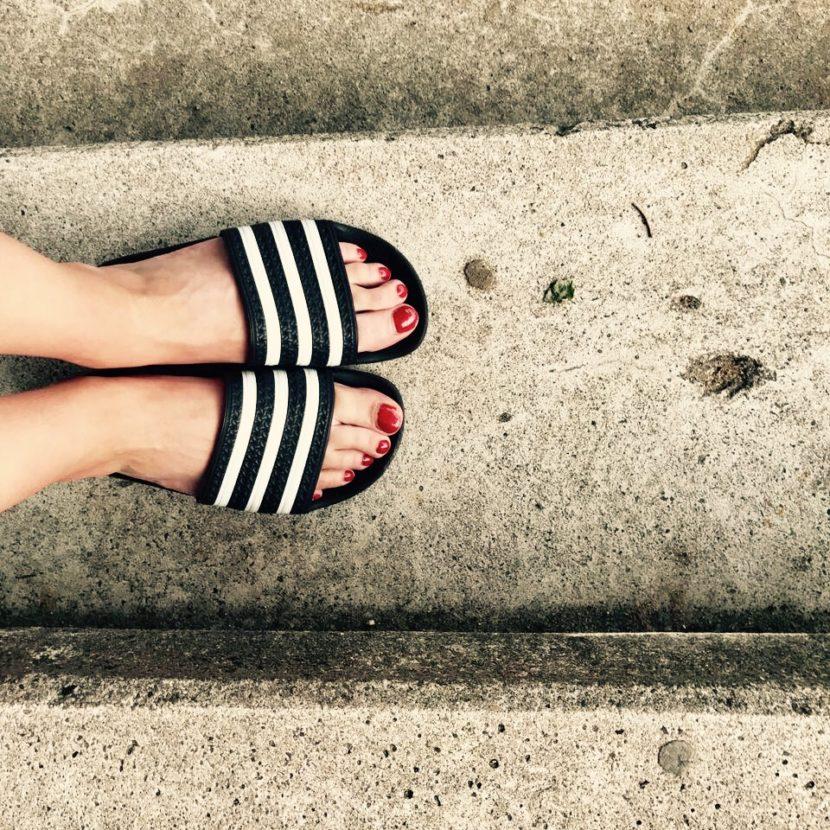 Adilette Sneaker Badelatsche Adidas