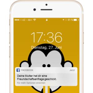 Facebook Freundschaftsanfrage Deine Mudda Soziale Medien