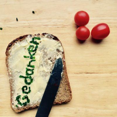 Gedanken Brot Kopfkino