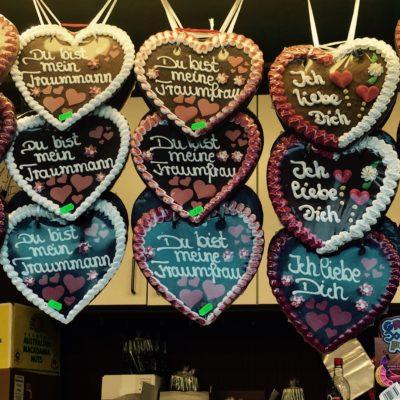 Lebkuchenherz Herzen Liebe Tinder