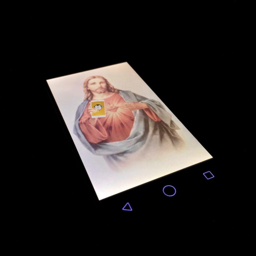 Jesus Smartphone Handy Religion