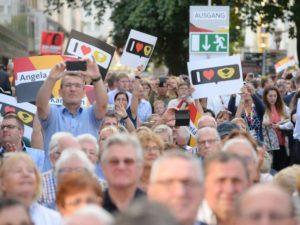 Merkel Raute Siegen Wahlkampf I love Raute Angela Merkel Kanlzerin