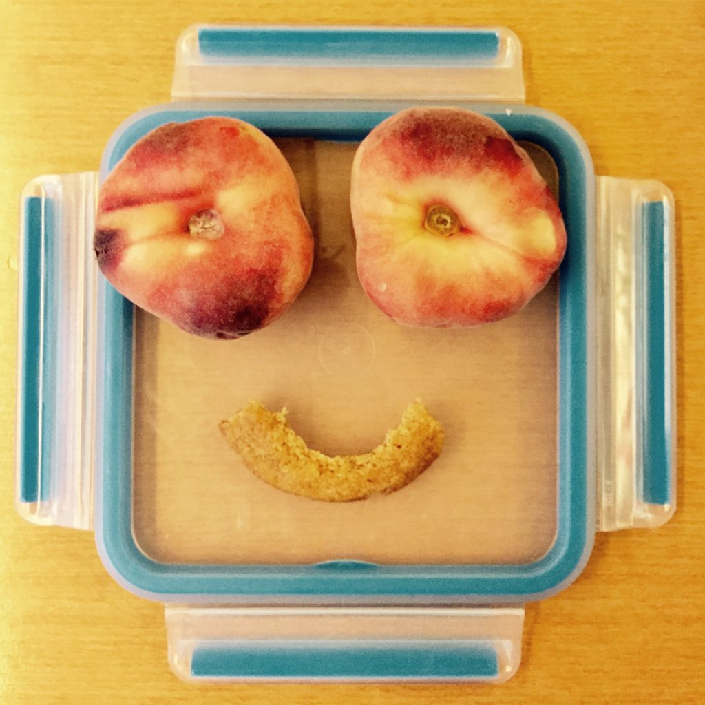 Hangry Foodart peaches Pfirsich happy