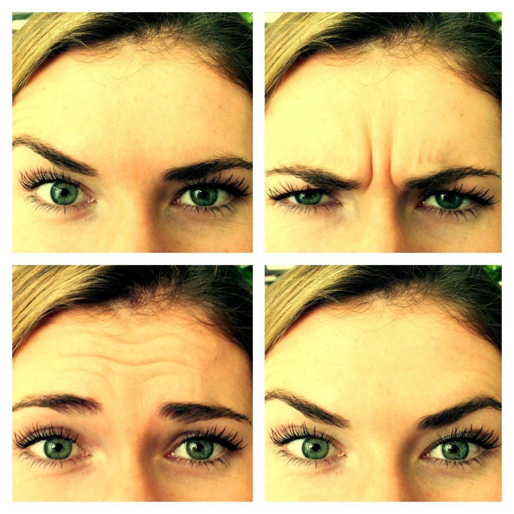 Gesichter Augenbrauen