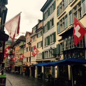Schweiz Switzerland Zürich Schweizer Fahne