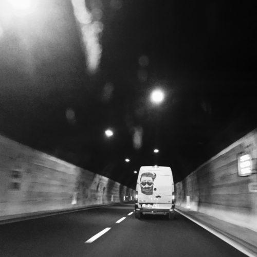 Straße Tunnel Transporter