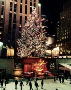 Weihnachten Rockefeller Center Christmas Tree