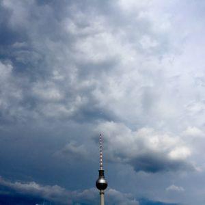 Deutschland Berlin Fernsehturm Alex