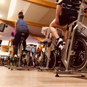 Vorsatz Sport Fitnessstudio Spinning Neujahrsvorsatz