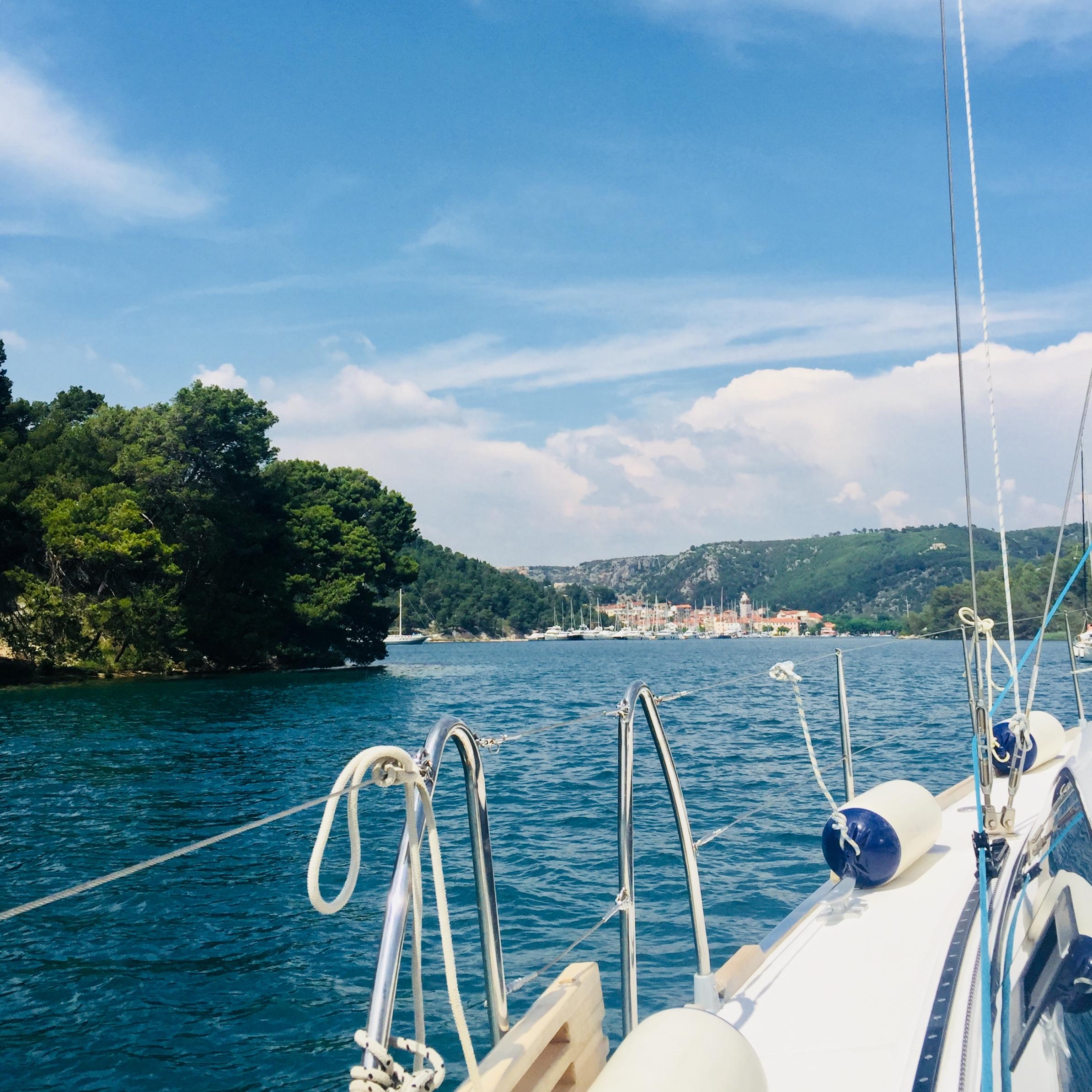 Segeln Segeltörn Boot Kroatien
