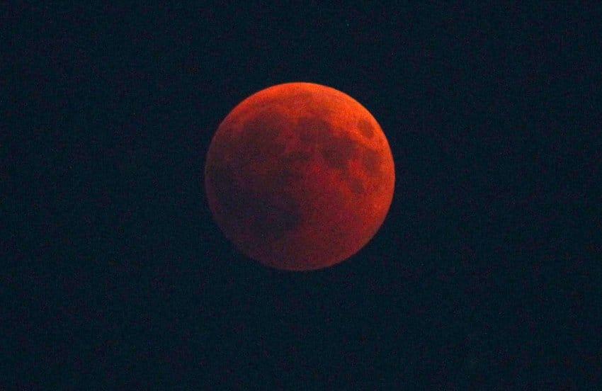 sommernacht blutmond Sommer Mond Wärme