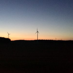 Sommernacht Sonnenuntergang Dämmerung Sommer