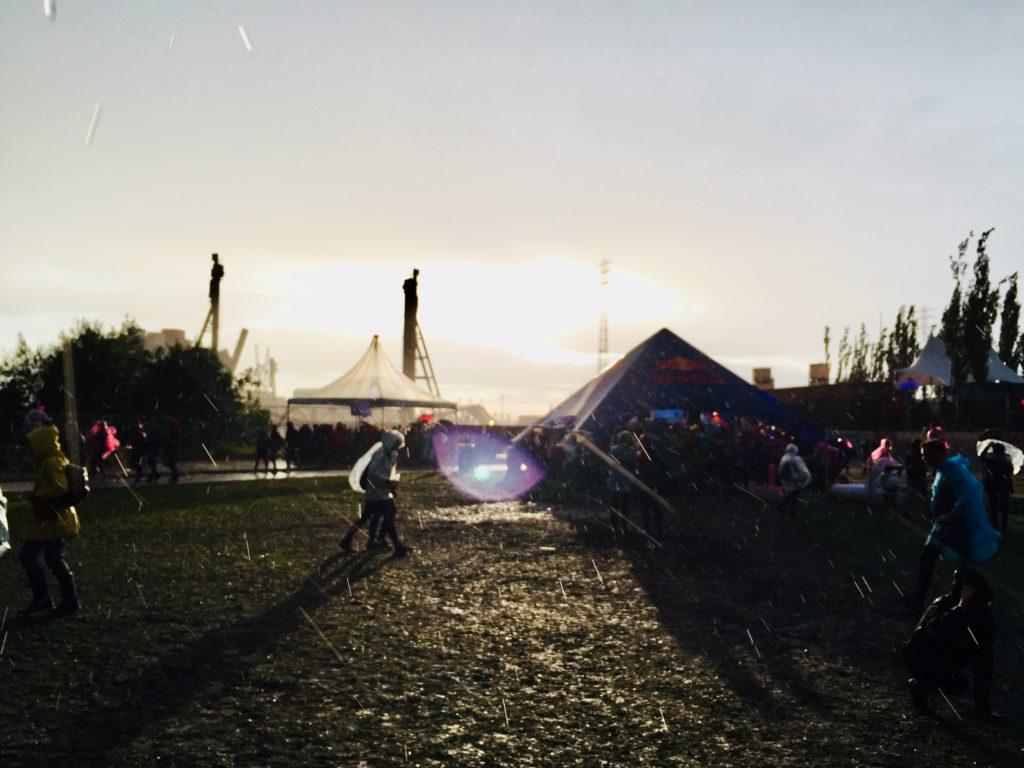 Festival Musik Open Air Regen Zelte