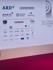 Deutscher Radiopreis 2018 Preisverleihung Radio