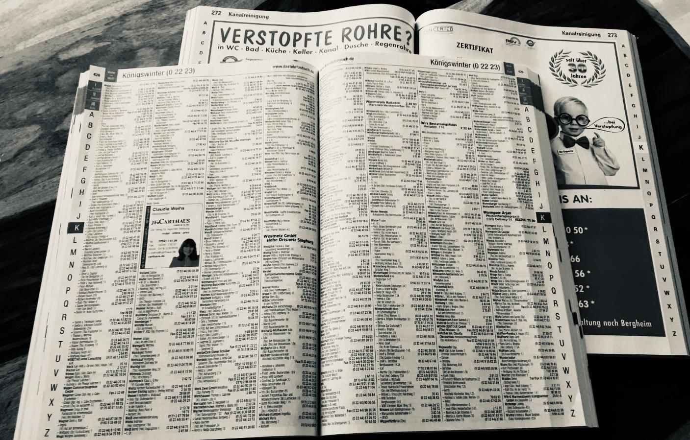 Telefonbuch Alt Nostalgie Vergangenheit Gelbe Seiten