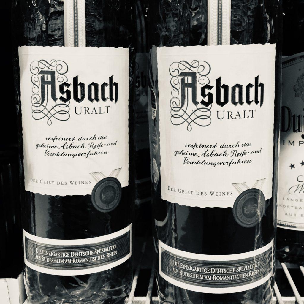 Asbach Uralt Vergangenheit Nostalgie