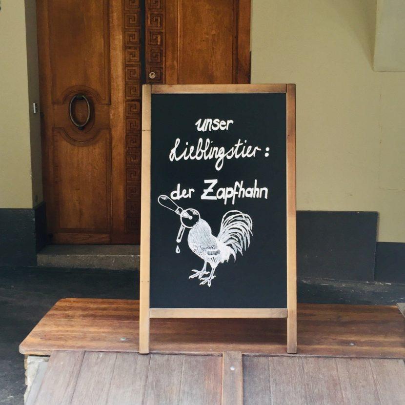 Begriffe Zapfhahn