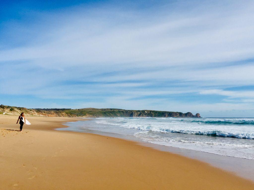 Fernweh Strand Surfer Australien Urlaub Aussteiger
