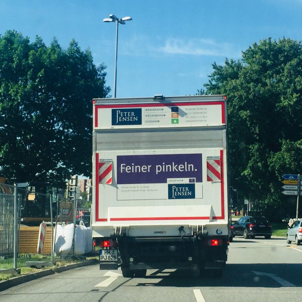 Werbung Schellenaffe Werbebotschaften Werbeblindheit abstruse Werbung