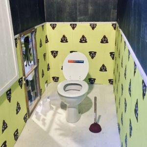 OMR 2019 Hamburg Online Marketing Rockstars Klo Toilette WC Kacke