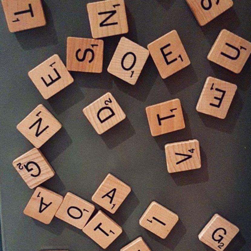 Worte Buchstaben Sätze Sprache