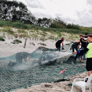 Tough Mudder Mudder Island Hinternislauf Schlamm Matsch