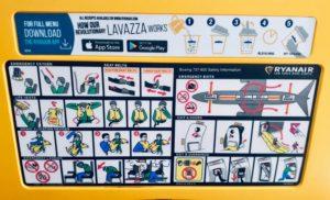 Safety Card Sicherheitshinweise