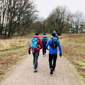 Funktionskleidung Wanderer Wandern Spazierengehen