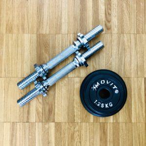 Fett isoliert Fitness Zuhause Corona Heimtrainer Yoga Blackroll