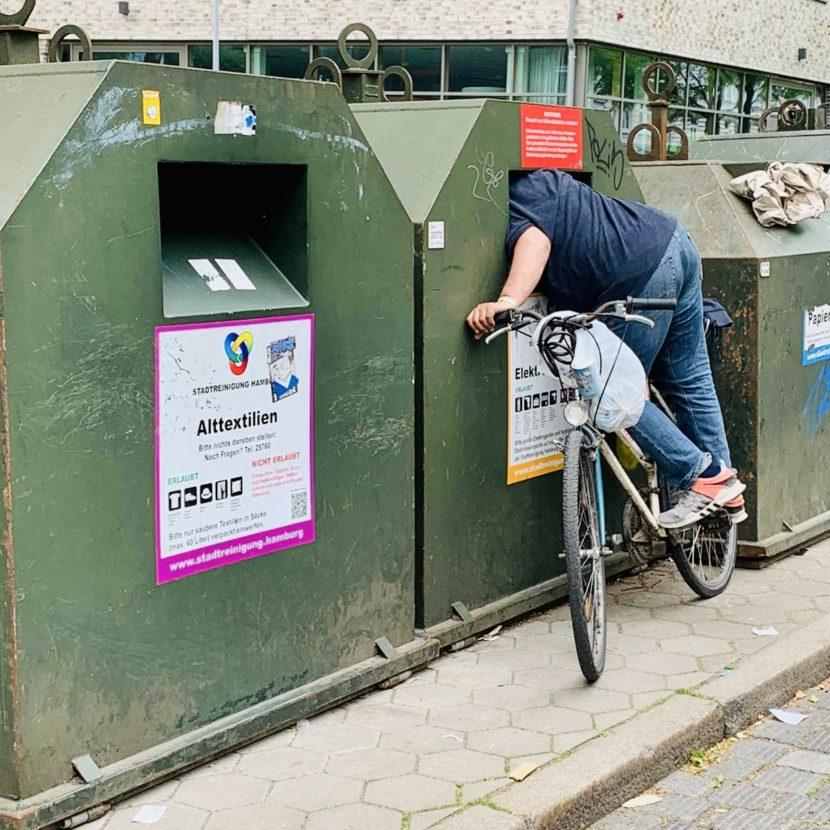 Öffnung Öffnungszeiten Lockerung Corona Müllcontainer