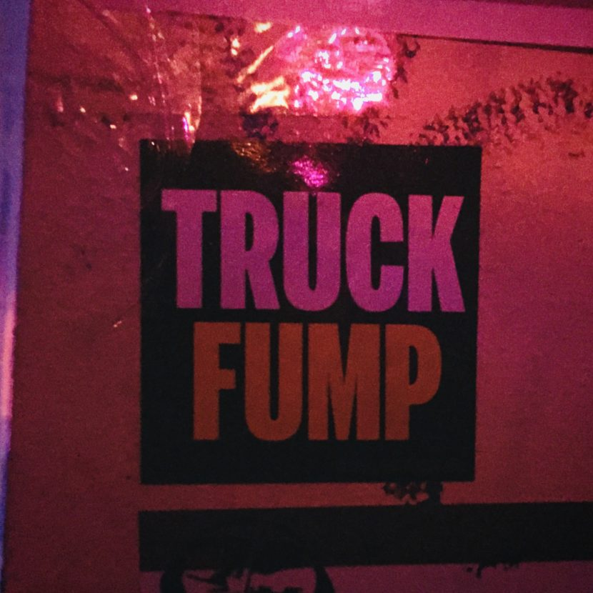 Trump Truck Fump Aufkleber USA