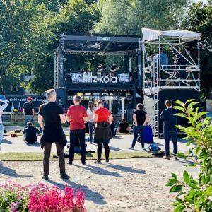 Empty seat leere Ränge Konzert Open Air Reeperbahnfestival Besucher