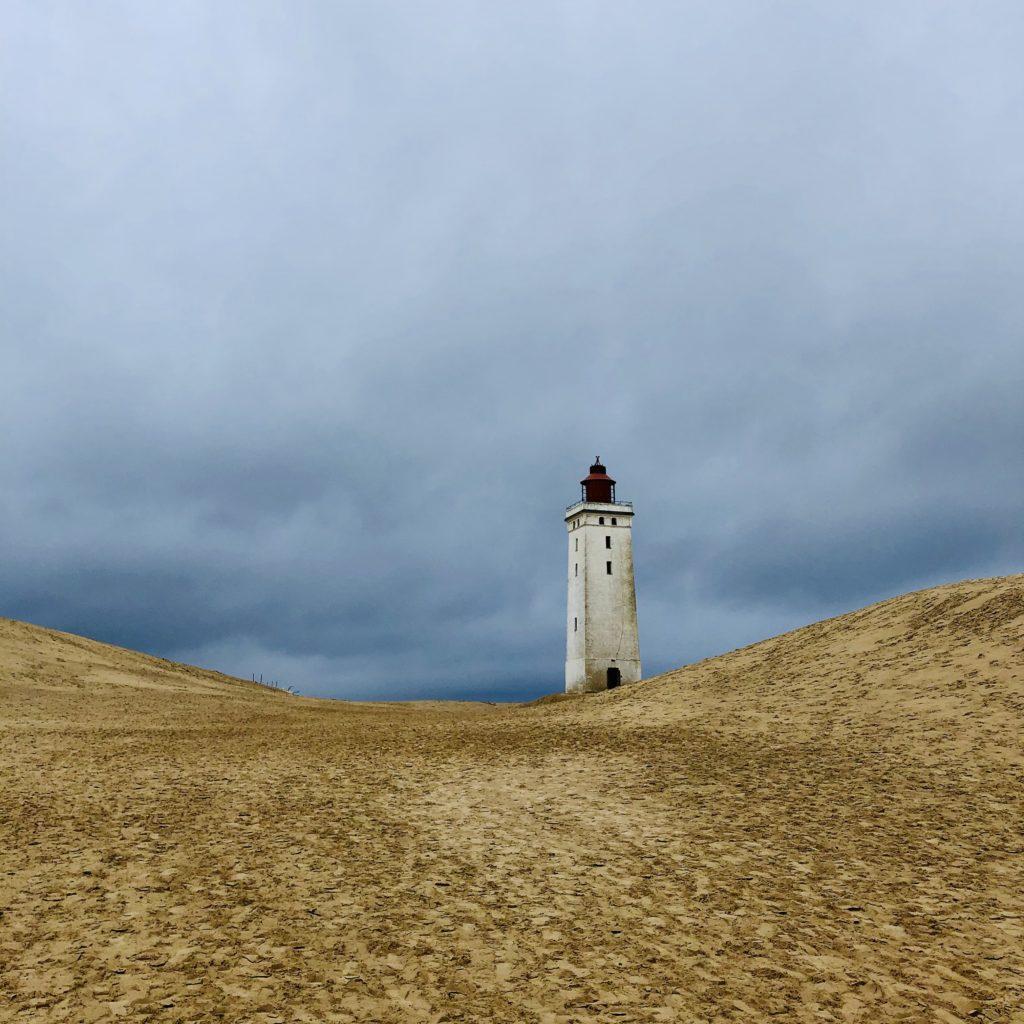 Dänemark Denmark Happiness Strand Herbst Leuchtturm Wanderdüne