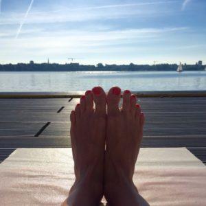 Yoga Matte Flow Yoga Entspannung Hamburg Yogamatte